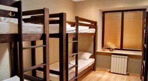 Просторная комната в хостеле