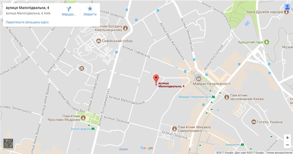 Карта проезда к GOOD DREAMS хостелу
